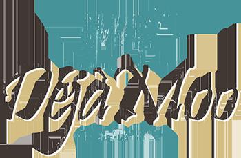 Déjà Moo Ranch Logo